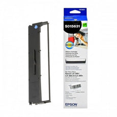 Epson S015631 OEM Fabric Ribbon - Black - 4m Characters