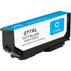 Compatible Epson T277XL220, T277XL Ink Cartridge - Cyan - 500 pages
