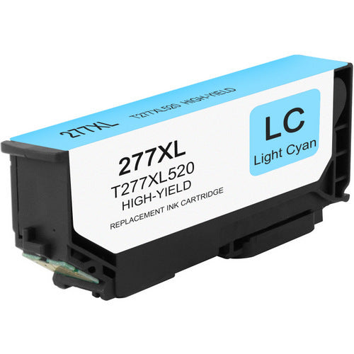 Compatible Epson T277XL520, T277XL Ink Cartridge - Light Cyan - 500 pages