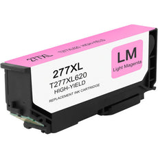 Compatible Epson T277XL620, T277XL Ink Cartridge - Light Magenta - 500 pages