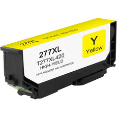 Compatible Epson T277XL420, T277XL Ink Cartridge - Yellow - 500 pages