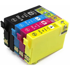 Compatible Epson T702X Ink Cartridges Black, Cyan, Yellow, Magenta - Value Pack