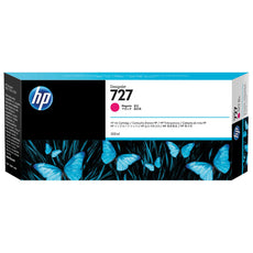 OEM HP 727, F9J77A DesignJet Ink Cartridge - Magenta - 300ml