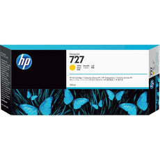 OEM HP 727, F9J78A DesignJet Ink Cartridge - Yellow - 300ml