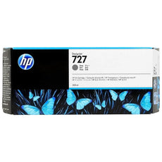 OEM HP 727, F9J80A Gray DesignJet Ink Cartridge - Gray - 300ml