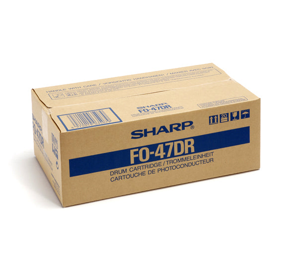 Sharp FO-47DR OEM Imaging Drum For FO 4650, FO 5800 Black - 20K