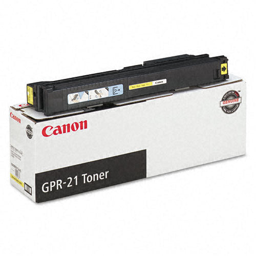 OEM Canon 0259B001AA, GPR21 Toner Cartridge Yellow - 30K