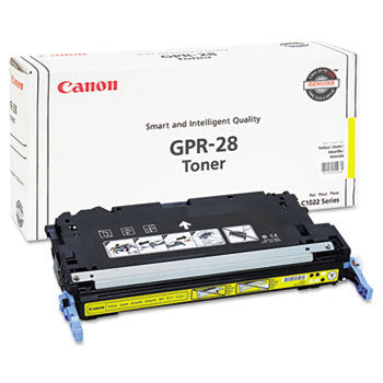 OEM Canon 1657B004AA, GPR28 Toner Cartridge Yellow - 6K