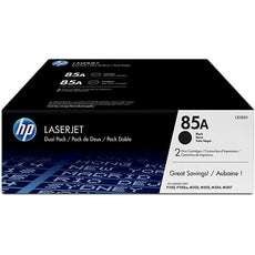 OEM HP CE285D, 85A Toner Cartridges - Black - 2 Pack - 3,200 Pages