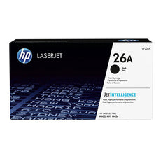 OEM HP CF226A, 26A Laser Toner Cartridge - Black - 3.1K