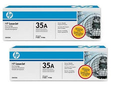 OEM HP 35A, CB435D LaserJet Toner Cartridges Black - 3K - (2 Pack)
