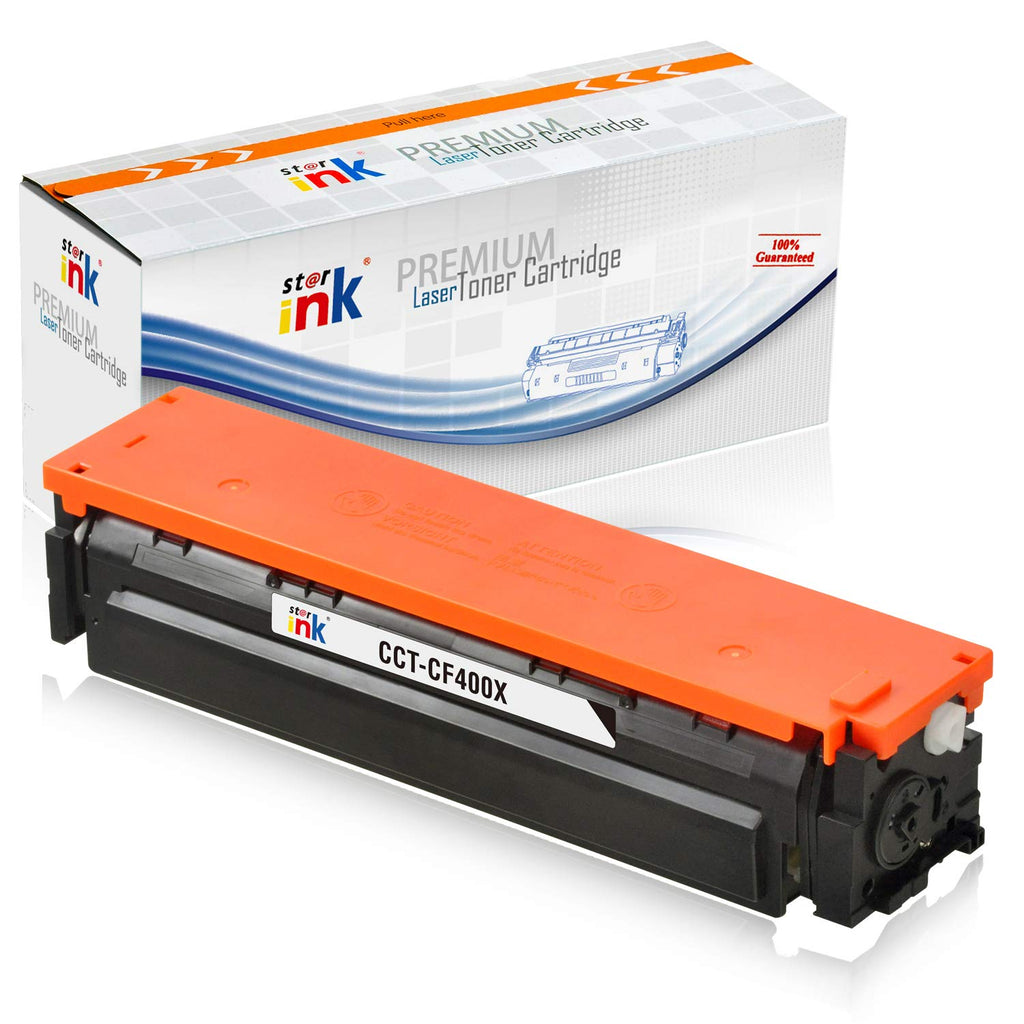 StarInk Compatible HP CF400X, 201X Toner Cartridge - Black - 2.8K