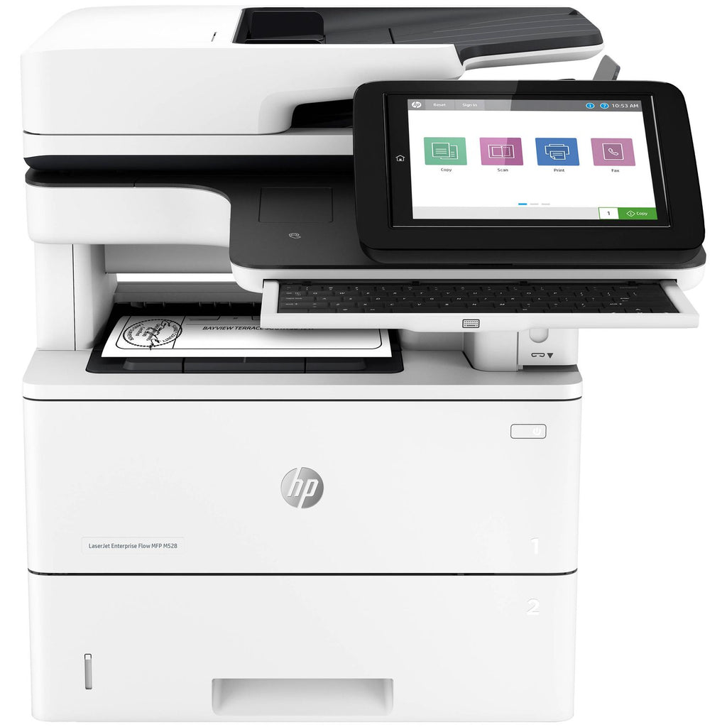 HP LaserJet Enterprise Flow MFP M528z Multifunction Copier/Fax/Printer and Scanner
