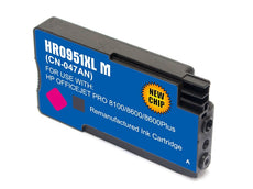 Compatible HP 951XL, CN047AN Ink Cartridge For OfficeJet Pro 8600 Magenta - 1.5K