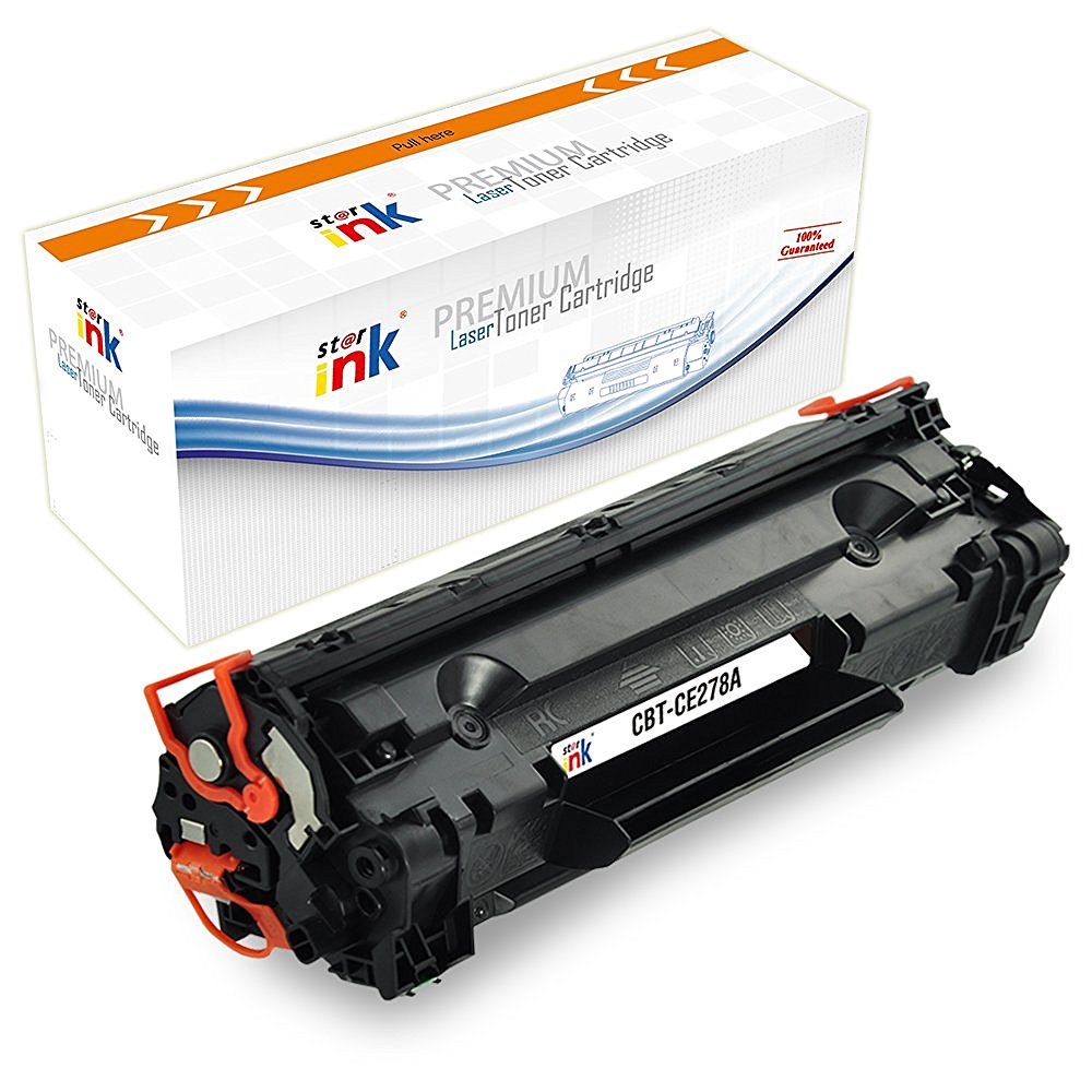 StarInk Compatible HP CE278A, 78A Toner Cartridge - Black - 2.1K