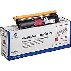 Konica Minolta 1710587-006 OEM Toner Cartridge For MagiColor 2400W Magenta - 4.5K