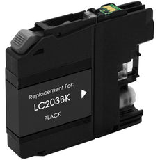 Compatible Brother LC203BK, LC203XL Ink Cartridge - Black - 550 Pages