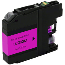 Compatible Brother LC203M, LC203XL Ink Cartridge - Magenta - 550 Pages