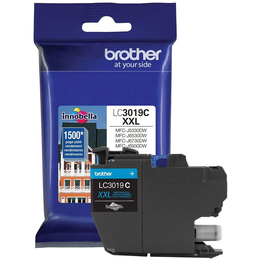 OEM Brother LC3019CS Ink Cartridge For MFC-J5330DW - Cyan - High Yield - 1.5K