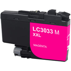 Compatible Brother LC3033M Ultra Ink Cartridge - High Yield - Magenta - 3K