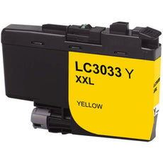 Compatible Brother LC3033Y Ultra Ink Cartridge - High Yield - Yellow - 3K