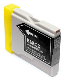 Compatible Brother LC51BK, LC51 Ink Cartridge - Black - 500