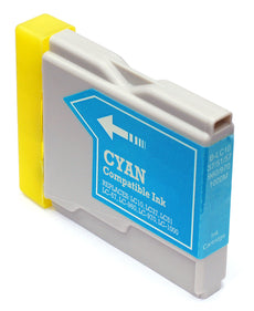 Compatible Brother LC51C, LC-51C Ink Cartridge For DCP-750CW, MFC-885CW Cyan - 400