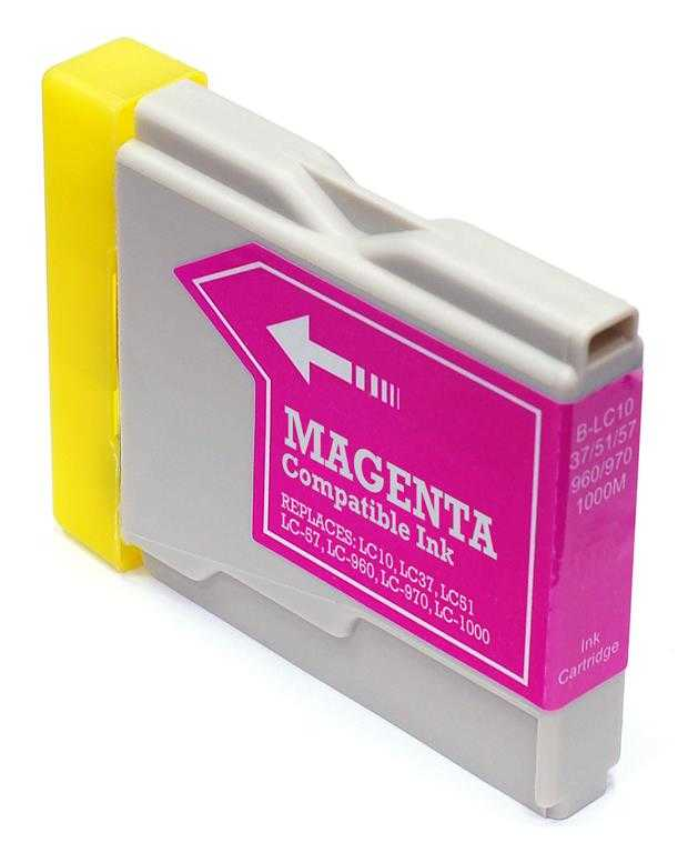 Compatible Brother LC51M, LC-51M Ink Cartridge For DCP-750CW, MFC-885CW Magenta - 400