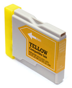 Compatible Brother LC51Y, LC51 Ink Cartridge - Yellow - 400
