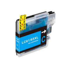 Compatible Brother LC61C, LC-61C Ink Cartridge For DCP-J140W, MFC-J630W Cyan - 325