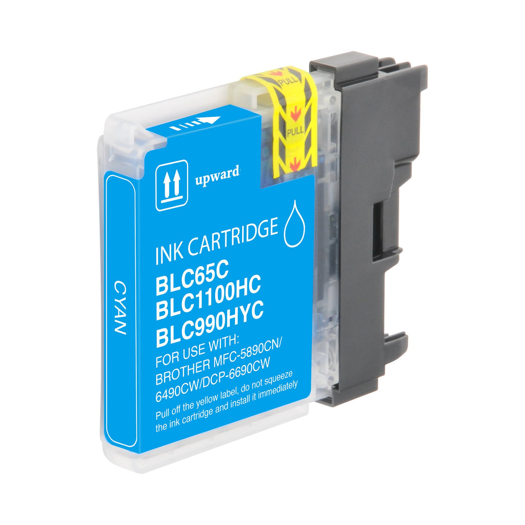 Compatible Brother LC65C, LC-65C Ink Cartridge For DCP-6690, MFC-6890 Cyan - 750
