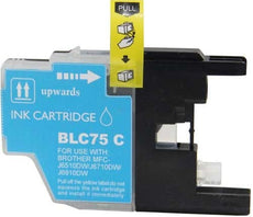 Compatible Brother LC75C, LC-75C Ink Cartridge For MFC-J6910DW, MFC-J835DW Cyan - 600