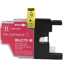 Compatible Brother LC75M, LC-75M Ink Cartridge For MFC-J6910DW, MFC-J835DW Magenta - 600