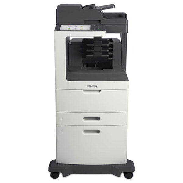 Lexmark MX810dxme Mono Laser MFP, Copier/Fax/Printer/Scanner - ENERGY STAR 1.2