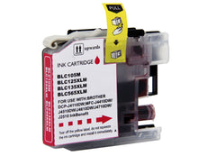 Compatible Brother LC105M, LC-105M Ink Cartridge For MFC-J4310DW Magenta - 1.2K