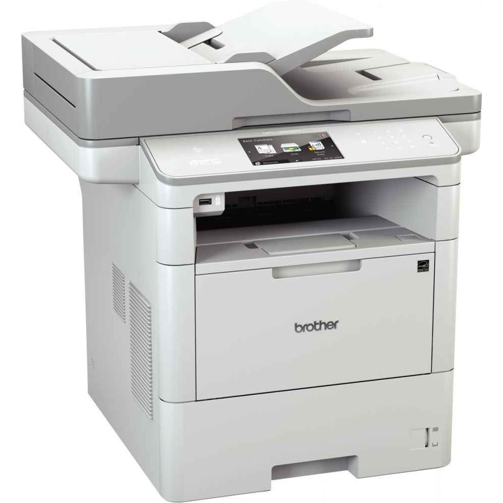 Brother MFC-L6900DW Laser Multifunction Printer - Monochrome - Copier/Fax/Printer/Scanner