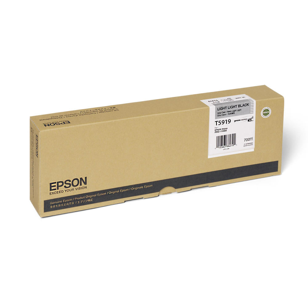 OEM Epson T591900 Ink Cartridge - Light Light Black (700ML)