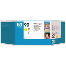OEM HP 90, C5064A Print Cartridge - Yellow - 225 Ml