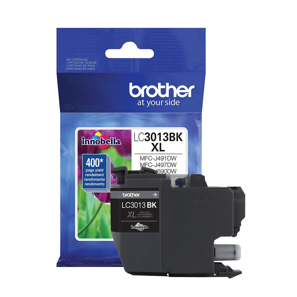 OEM Brother LC3013BK, LC3013BKS Inkjet Ink Cartridge - Black - 400 Pages - 1 Pack