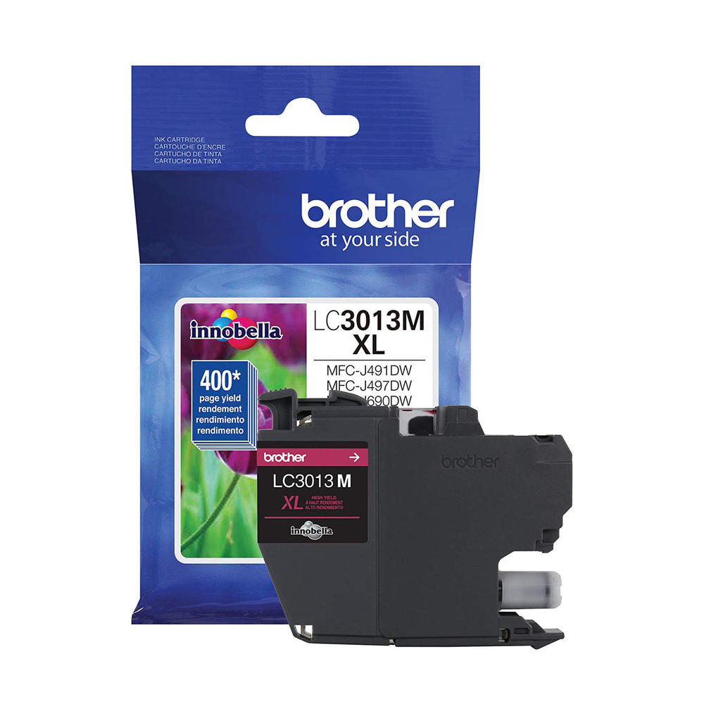 OEM Brother LC3013M, LC3013MS Inkjet Ink Cartridge - Magenta - 400 Pages - 1 Pack