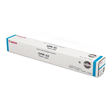 OEM Canon 0482C003, GPR-55 High Yield Toner Cartridge - Cyan - 60000 Pages