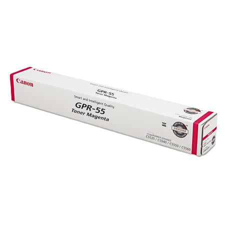 OEM Canon 0483C003, GPR-55 High Yield Toner Cartridge - Magenta - 60000 Pages