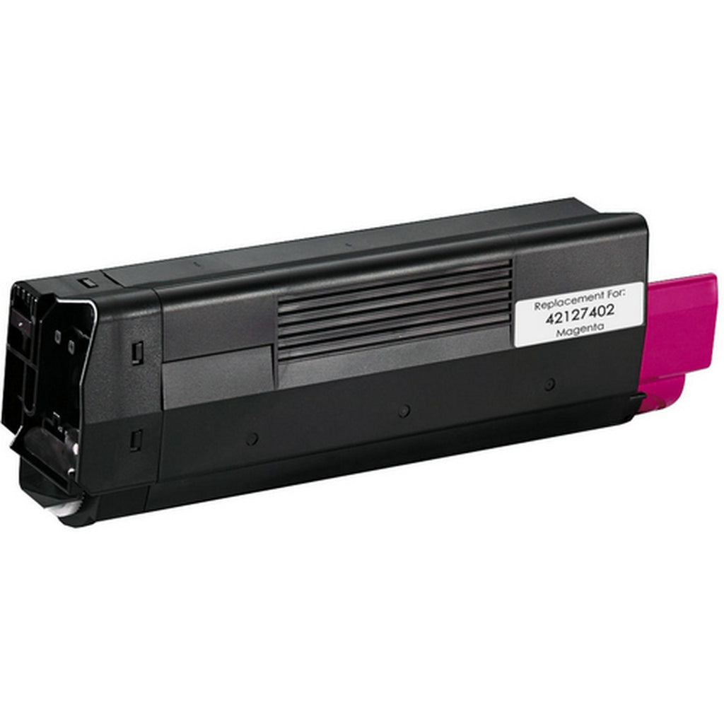 Compatible Okidata 42127402, TYPE C6, 43034802 Toner Cartridge - Magenta - 5K