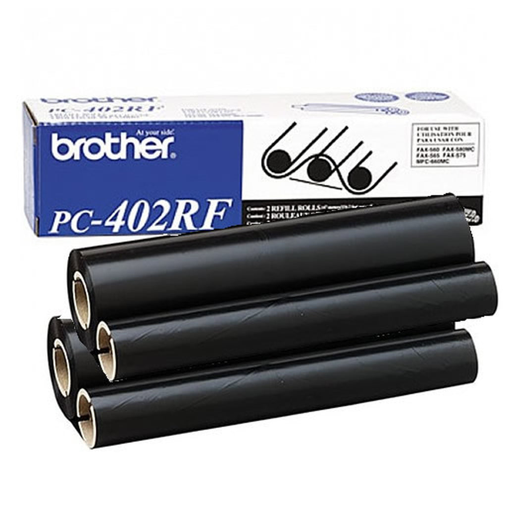OEM Brother PC402RF Ribbon - Thermal Transfer - 150 Pages - Black - 2 / Box