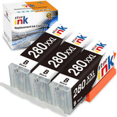 StarInk Compatible Canon PGI-280XXL Black, 2021C001 Ink Cartridges - 3 Pack