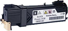 Compatible Xerox 106R01281 Toner Cartridge For Phaser 6130 Black - 2.5K
