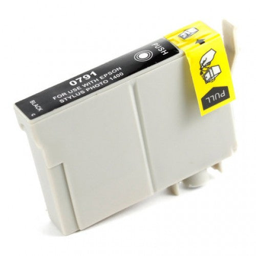 Compatible Epson 79, T079120 Ink Cartridge for Stylus Photo 1400 Black - 470