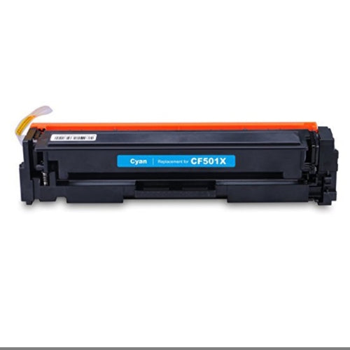Compatible HP CF501X, 202X Toner Cartridge - Cyan - 2.5K