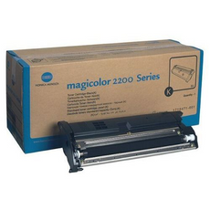 Konica Minolta 1710471-001 OEM Toner Cartridge For MagiColor 2200 Black - 6K