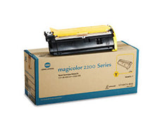 Konica Minolta 1710471-002 OEM Toner Cartridge For MagiColor 2200 Yellow - 6K